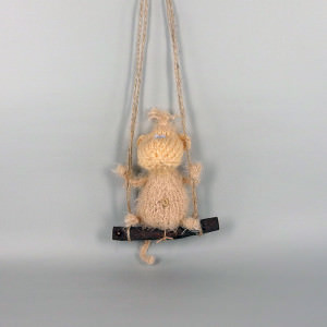Обезьяна вязаная - символ 2016 года