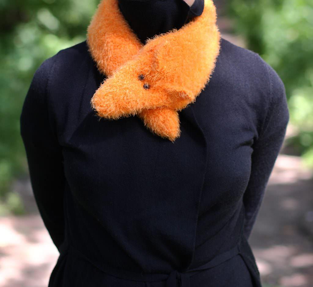 Лиса шарф
